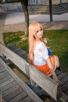 Mirai Suenaga by Bakasteam