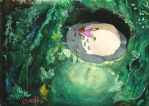 My Neighbor Totoro Painting by Skyfurrow