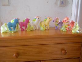 my little pony collection: rainbow ponies serie 2 by theladyinred002