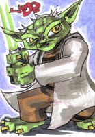 PSC STAR WARS Yoda by jasinmartin