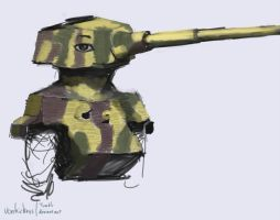 Tiger II test by VonKickass
