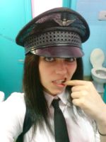 Airline Pilot - Halloween party by Dominiquefx