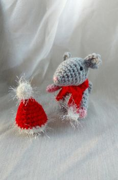 Little Xmas mouse by Sasophie