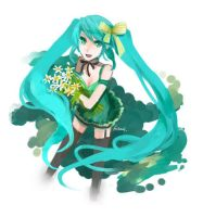 Vocaloid - Miku's Birthday by cullets