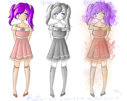 Plum fanart---- yeah. theres 3 of them =w= by Jayda-Nyan