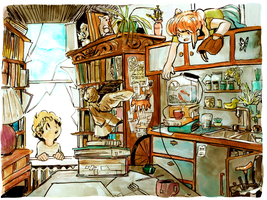 The Old Professor's House [Env.No.01] by Rin-Uzuki