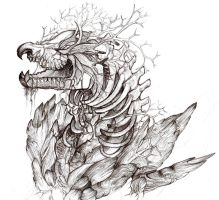 Root dragon by Tokyozilla