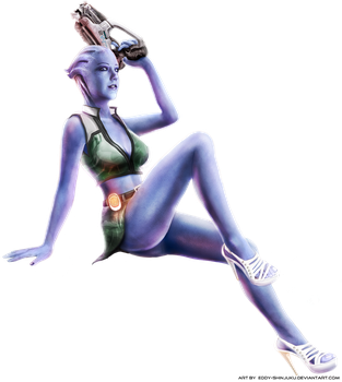 PEARLESCENT LIARA: Normandy Nose Art - Mass Effect by Eddy-Shinjuku