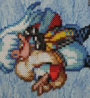 Sesshomaru Bead Sprite by Nicolel12