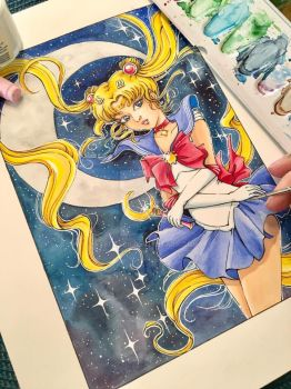 Sailor Moon by LeFay00
