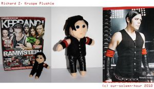 Richard Z. Kruspe plushie by tanmei