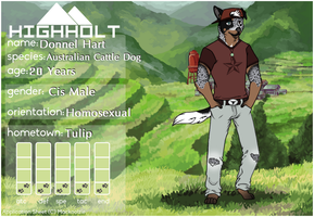 Donnel Hart | HH by adderclaw229