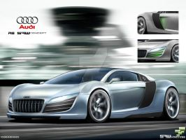 Audi R8 SAWconcept motion by yasiddesign