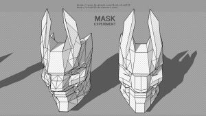 Mask Experiment1 by silva018
