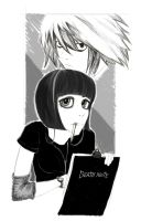 my death note by burcuaycan