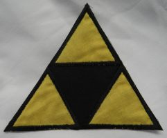 Triforce Iron On Patch by quiltoni