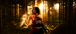 Dastan in the forest by Sammers1