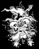 Witchfinder bw version by MonsterInk