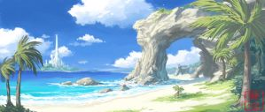 Along the coast of Fynn by Kyomu