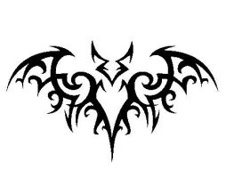 My bat symbol by x3x-yaoi-lover-x3x