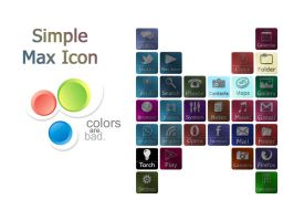 Simple Max Icon Pack by mustafa-b