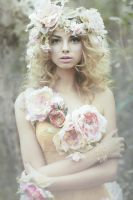 The Wild Rose Fairy by EmilySoto