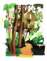 Siesta at the treehouse by rachitick
