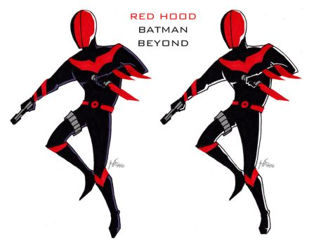 Red Hood Beyond by cat-gray-and-me78
