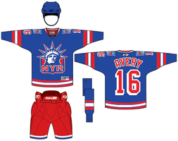 NYR Uniform Concept by PD-Black-Dragon