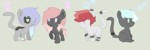 Breeds 2 :Night-Twinkle: by Rainbow-ninja-adopts