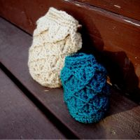 Dragon Egg Dice Bag by patterns4paws