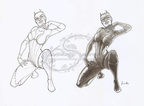 Catwoman by AnneaGoewin