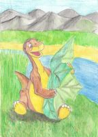 Littlefoot with a treestar by Malte279