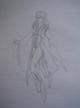 Sketch: Jareth the Goblin King by Tindome-Art