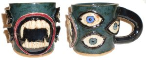 Eye Cup #15 by aberrantceramics