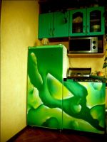 green_fridge by shepa