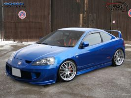 Honda Acura RSX by RDJDesign