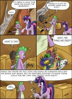 Cleaning the basement by CIRILIKO