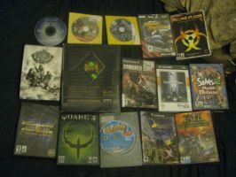 few of my computer and video games by ownerfate