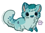 SOLD tiny blue kitten adopt by ChezuAdoptables