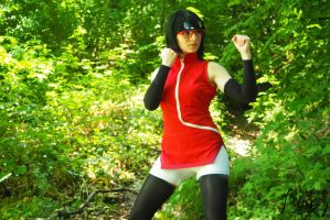 Sarada - Fight me! by Selink7