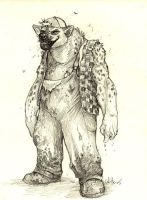 Scotch - Gnoll Garbageman by caramitten