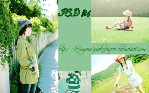 psd #14 - green by Jina by KwonJina-ParkEunPon
