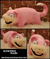Slowpoke Plush by MangoIsland