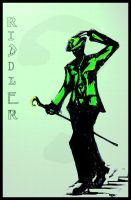 The Riddler by KoibitoDragon
