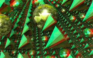 Equinoctial Visions 3D Anaglyph by skyzyk