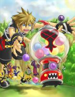 KH2 - Gotta Catch'em All by Nijuuni