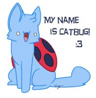 Catbug! by Puddincat7