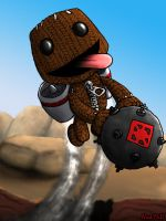 Sackboy Jet Pack by Nick-McD