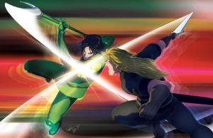 Adrian VS Zath by theCHAMBA